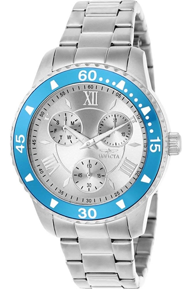 Amazon India : Invicta Watches Womens Angel Multi Function Stainless Steel Watch