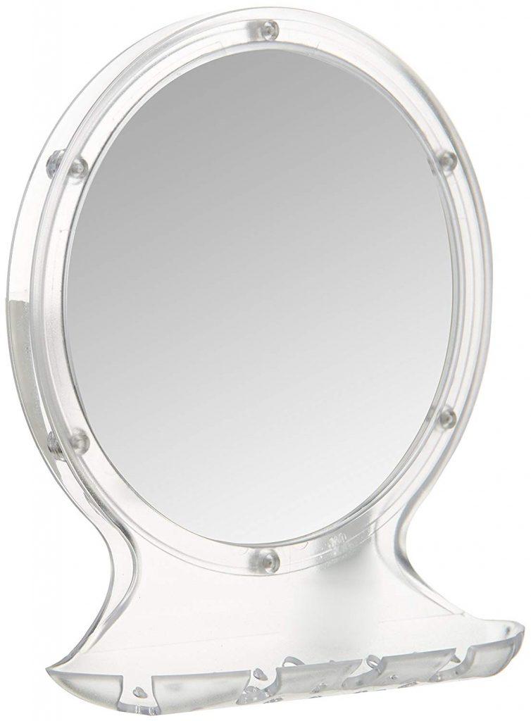 Amazon India : AmazonBasics Suction Bathroom Mirror