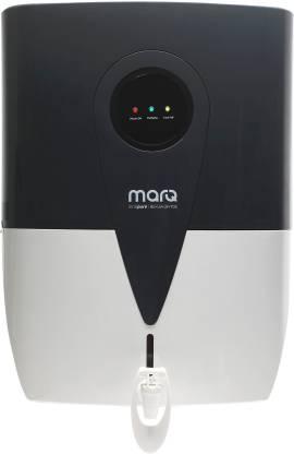 Flipkart : MarQ by Flipkart MQWPROTDSE10L 10 L RO + UV + UF + TDS Water Purifier (White, Grey)