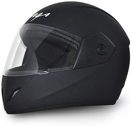 Amazon India : Vega Cliff DX CLF-DX-DK_M Full Face Helmet (Dull Black, M)