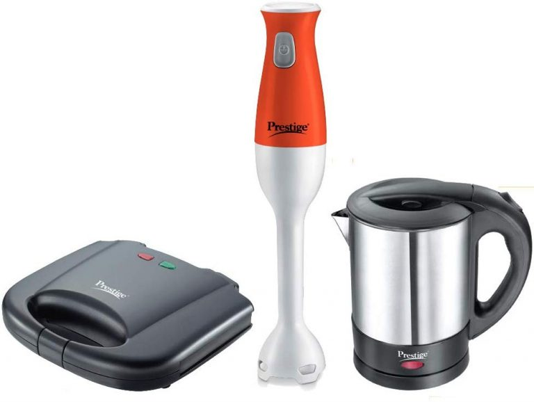 Amazon India : Prestige Breakfast Set PBS 01 - Electric Kettle, Sandwich Toaster and Hand Blender