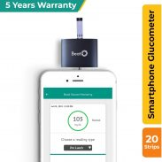 Amazon India : Beato Smartphone Glucometer with 20 strips