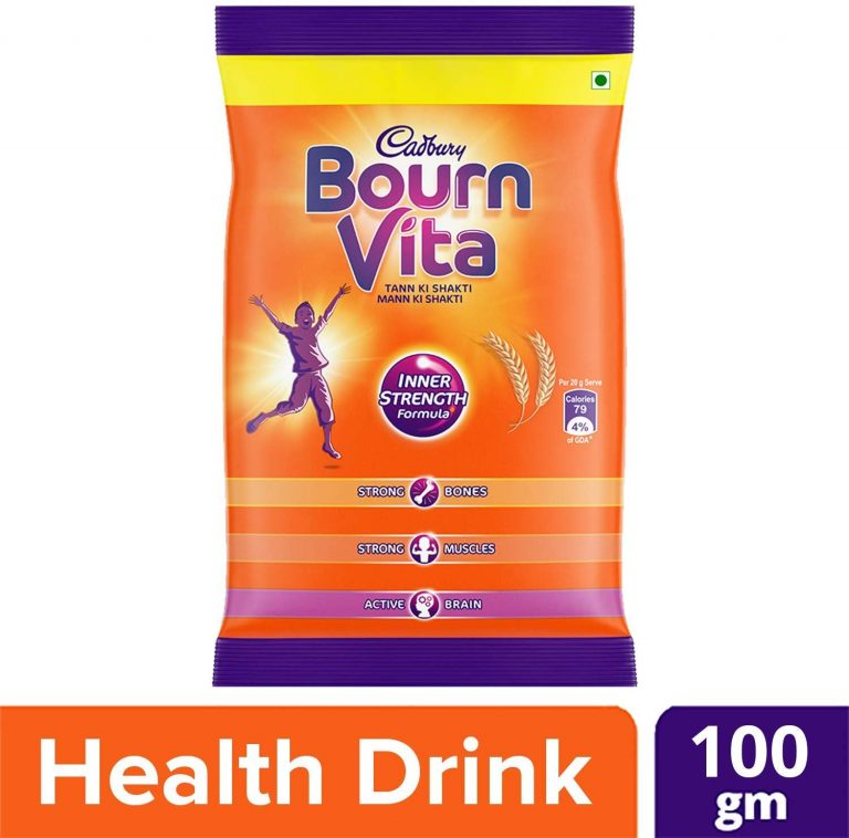 Amazon India : Cadbury Bournvita Health Drink, 100g