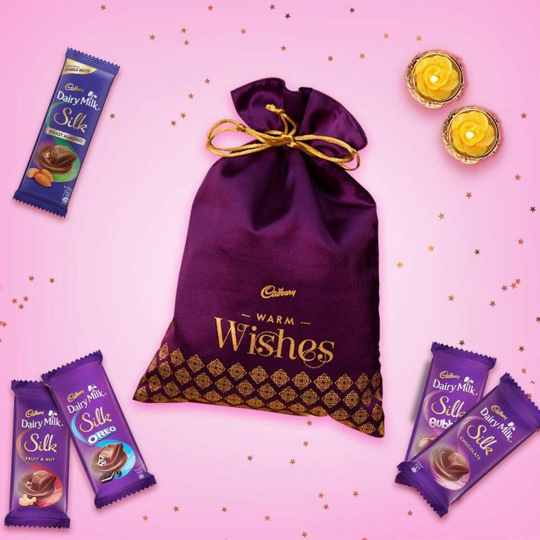 Amazon India : Cadbury Diwali Chocolate Potli, 283g