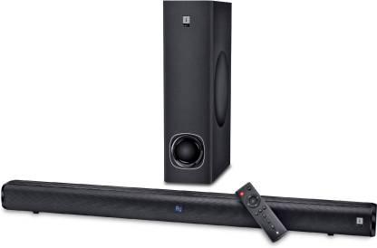 Flipkart : iBall Cinebar 100 High Power with Subwoofer 80 W Bluetooth Soundbar  (Black, 2.1 Channel)
