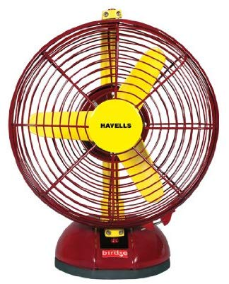 Amazon India : Havells Birdie 230mm Personal Fan (Yellow and Maroon)