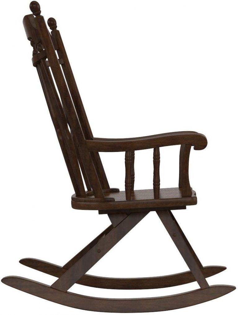 Amazon India : Forzza Barry Rocking Chair Chesnut