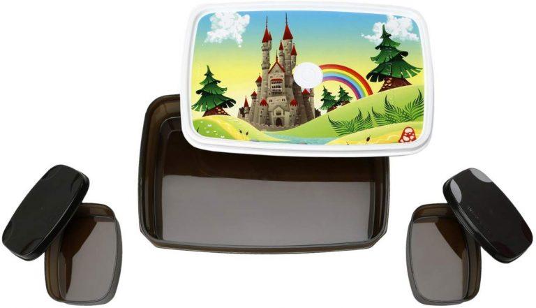 Amazon India : Signoraware Castle Compact Plastic Lunch Box Set, 3-Pieces, Dark Cocoa