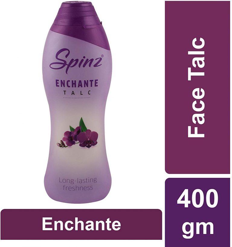 Amazon India : Spinz Talc Enchante, 400gm
