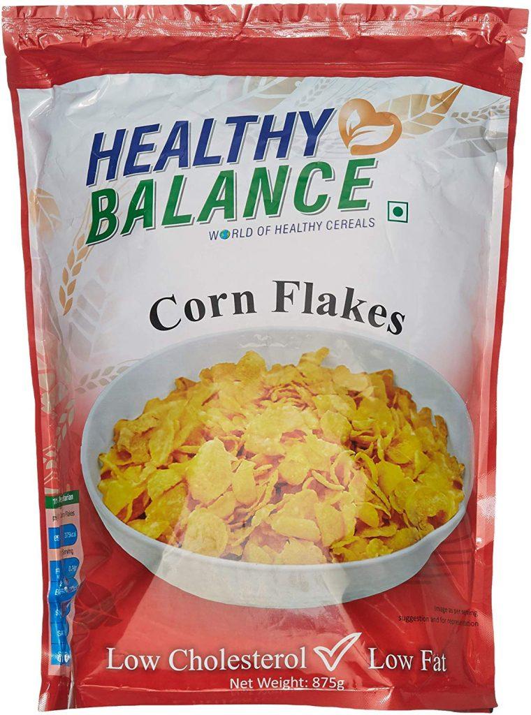 Amazon India : Healthy Balance Corn Flakes 875gm