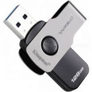 TataCliQ : Kingston DataTraveler Swivl 128GB USB USB 3.1 Pen Drive