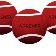 Flipkart : Adrenex by Flipkart Heavy Cricket Tennis Ball  (Pack of 3, Red)