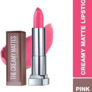 Flipkart : Maybelline New York Color Sensational Creamy Matte Lipstick  (670 Ravishing Rose, 3.9 g)