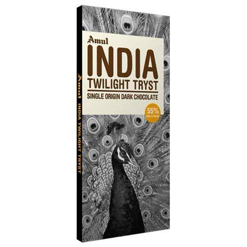 Amazon India : AMUL India Single Origin Dark Chocolate 125 GM. (Pack of 4)