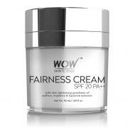 Amazon India : WOW Fairness SPF 20 PA++ No Parabens & Mineral Oil Cream, 50mL