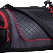 Amazon India : F Gear Astir Polyester 18 Ltrs Black Red Gym Duffle Bag