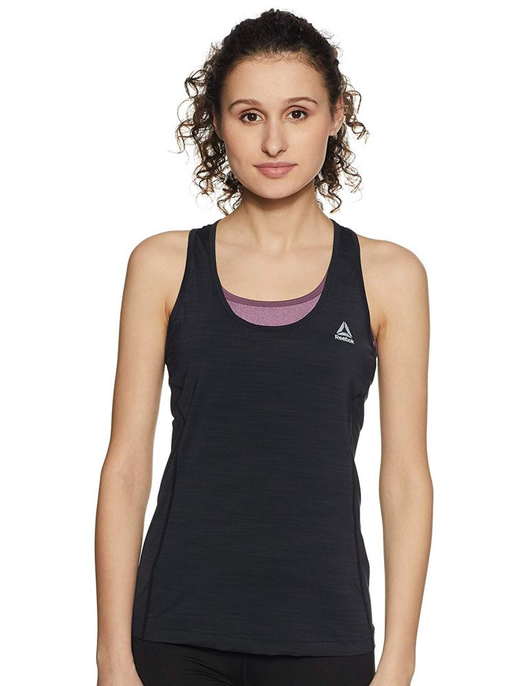 Amazon India : Reebok Women's Plain T-Shirt