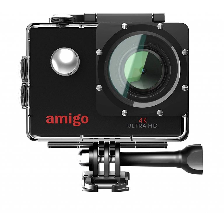 Amazon India : Amigo AC-40 4K Sports Action Camera with 16MP High Resolution with WiFi