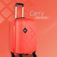 Flipkart : Safari  Mosaic Cabin Luggage - 22 inch (Red)