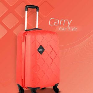 Flipkart : Safari  Mosaic Cabin Luggage - 22 inch (Red)