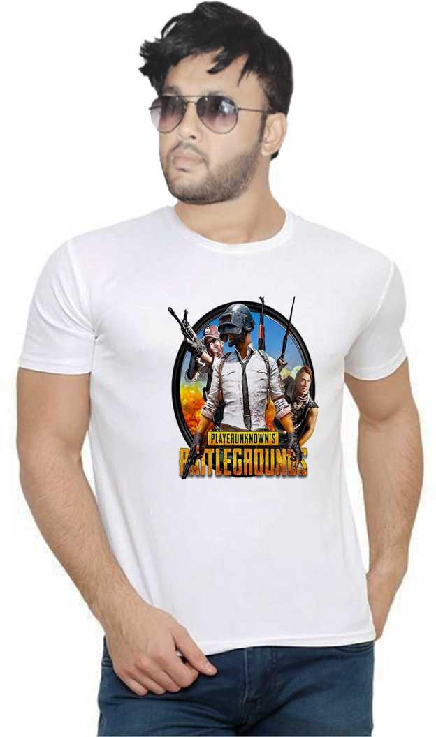 Flipkart : Vintage Clubwear Graphic Print Men Round or Crew White T-Shirt