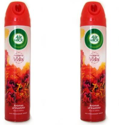 Flipkart : Airwick Aromas of Kashmir Spray  (2 x 245 ml)