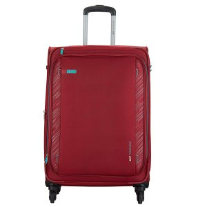 Amazon India : VIP Polyester 70 cms Red Softsided Check-in Luggage (Scope)