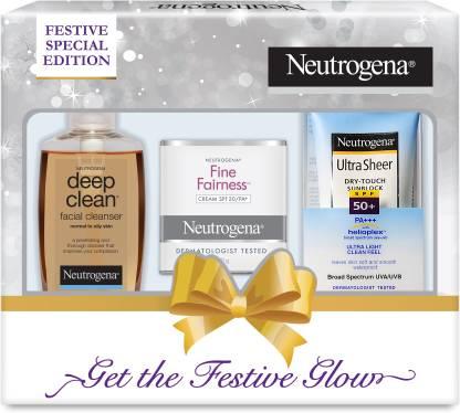 Flipkart : Neutrogena Festive Gift Pack  (3 Items in the set)