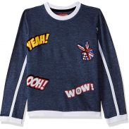 Amazon India : Cloth Theory Boys' Sweatshirt