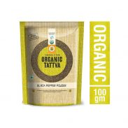 Amazon India :Organic Tattva Black Pepper Powder, 100g