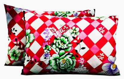 Flipkart : IWS 3D Printed Pillows Cover (Pack of 2, 67 cm*43 cm, Pink)