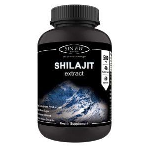Amazon India : Sinew Nutrition Shilajit 500mg 40% Fulvic Acid - 60 Veg Capsules