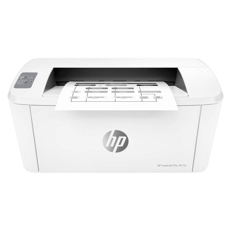 Amazon India : HP Laserjet Pro M17a Single Function USB Connectivity Laser Printer