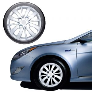 Amazon India : Oshotto/Deccan/Katwheels 13 inch Silver Wheel Cover Caps Compatible with New Hyundai i10 2013 (Set of 4)