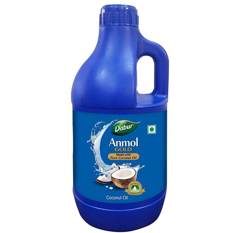 Amazon India : Dabur Anmol Gold 100% Pure Coconut Oil - 1 L