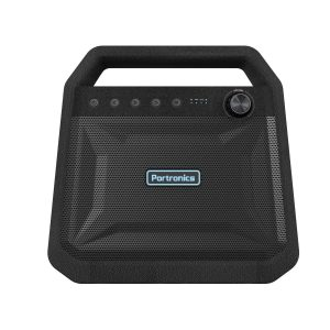 Amazon India : Portronics Roar POR-549, 2x12W Bluetooth 4.2 Stereo Speaker with TWS, Aux in, Micro SD Card and 6, 000mAh Battery, Black