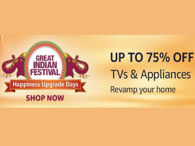 Amazon India : Up to 75% off | Finale offers on TVs & appliances