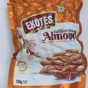 Amazon India : Exotes Popular Almonds Vacuum Pouch 500g( 250g x2)