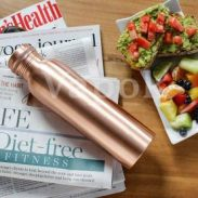 Flipkart : VAPOK Pure Copper Bottle 1 Litre  (Pack of 1, Brown, Copper)