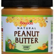 Flipkart : Bawaa Natural Crunchy Peanut Butter (Honey) 500 g