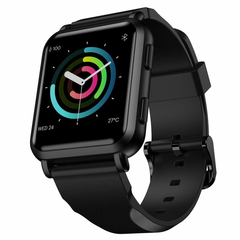 Amazon India : Noise ColorFit NAV Smart Watch with Built-in GPS and High Resolution Display (Stealth Black)