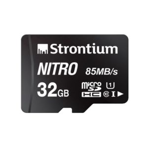 Amazon India : Strontium Nitro 32GB Micro SDHC Memory Card 85MB/s UHS-I U1 Class 10 High Speed for Smartphones Tablets Drones Action Cams