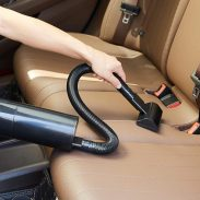 Amazon India : Solimo Car Vacuum Cleaner with HEPA Certified Filter (Black)