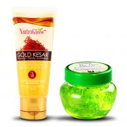 Amazon India : NutriGlow Gold Kesar Face Wash with Kesar extracts with Aloe Vera Gel