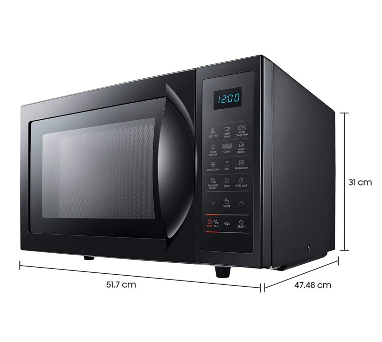Amazon India : Samsung 28 L Convection Microwave Oven (Black, SlimFry)