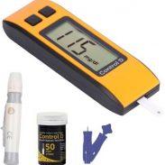 Flipkart : Control D Orange 50 Strips & Glucometer (Orange, Black)