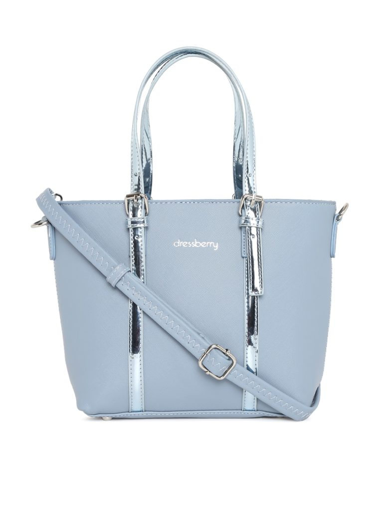 DressBerry Blue Solid Shoulder Bag at Rs.1599