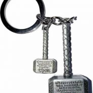 Flipkart : MASHKI 2 in 1 Thor Hammer Keychain at Rs.94