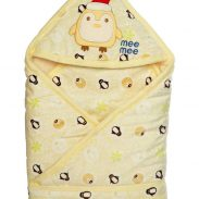 Amazon India : Mee Mee Cozy Cocoon Baby Wrapper with Hood (Cream) at Rs.959
