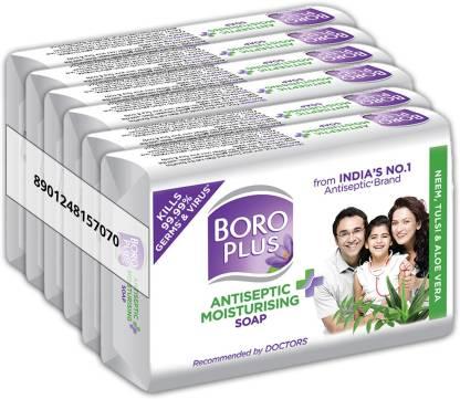 Boroplus Antiseptic Plus Moisturising Soap (6 x 125 g) at Rs.214